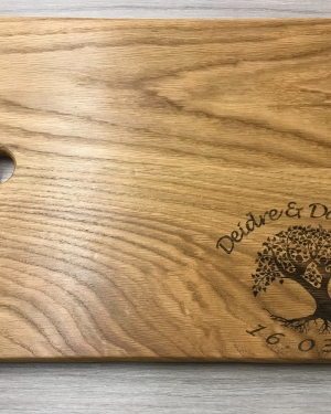 Oak Carving Board