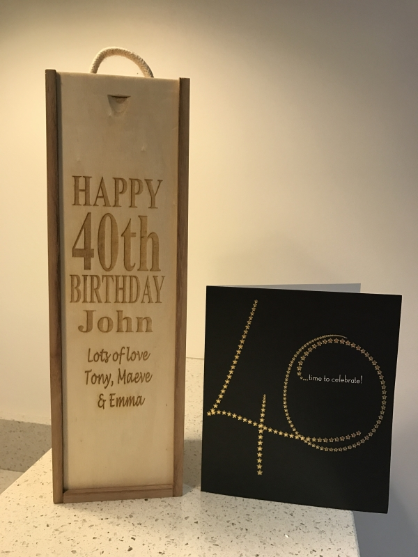 Personalised Winebox