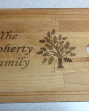 beech chopping board