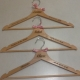 personalised wooden hangers5EC
