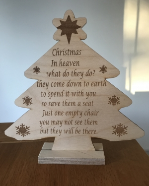 christmas message tree