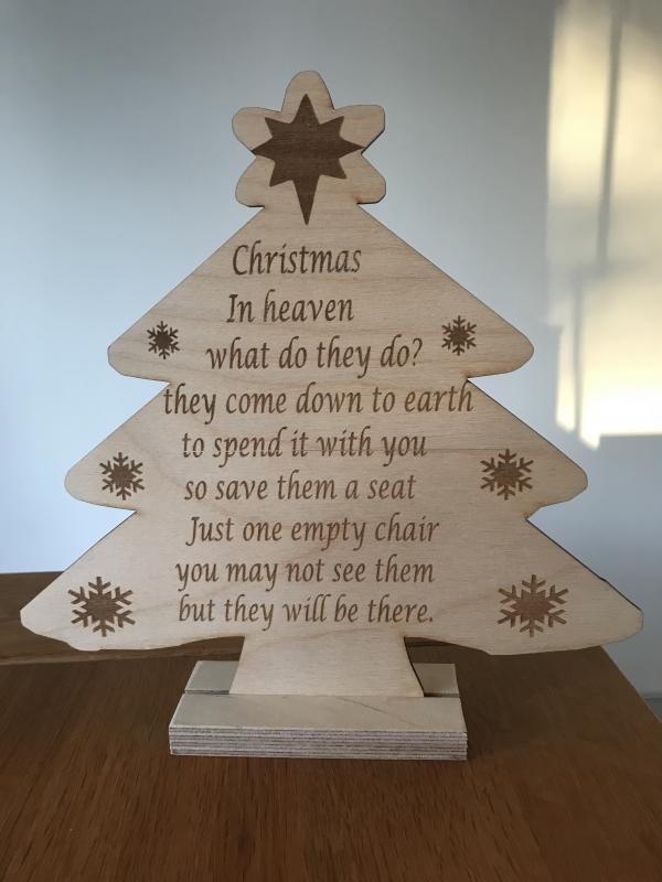 christmas message tree