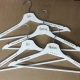 personalised white hangers