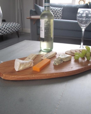large oak cheese board