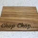 Mini Oak Chopping Board