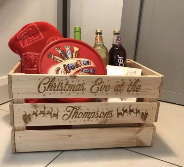 Christmas Eve Crate